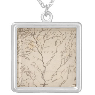 Mississippi Territory 4 Silver Plated Necklace