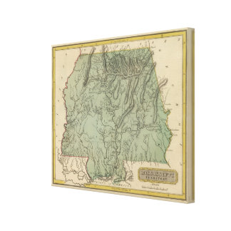 Mississippi Territory Canvas Print