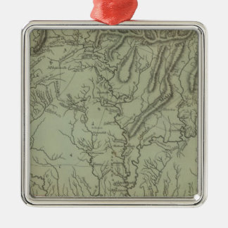 Mississippi Territory Christmas Ornament