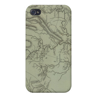 Mississippi Territory iPhone 4/4S Covers
