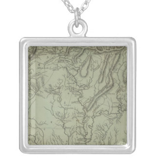 Mississippi Territory Silver Plated Necklace