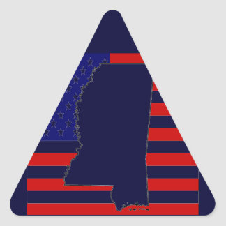 MISSISSIPPI TRIANGLE STICKER