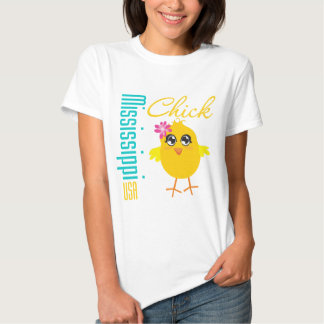 Mississippi USA Chick Tee Shirt