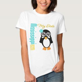 Mississippi USA Penguin T-shirt