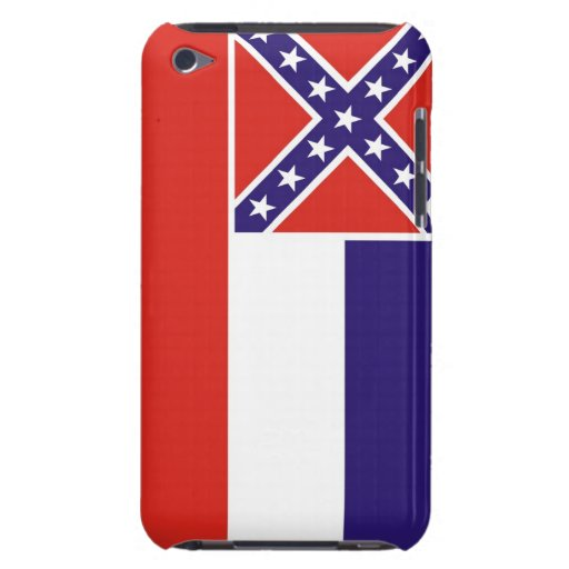 mississippi usa state flag case united america barely there iPod case