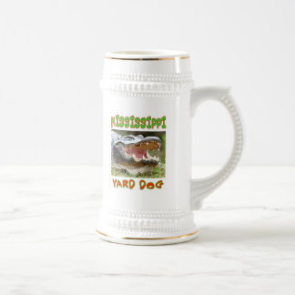 MISSISSIPPI YARD DOG BEER STEIN