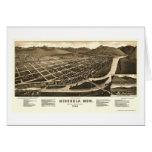 Missoula, MT Panoramic Map - 1884 Card