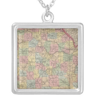 Missouri 10 silver plated necklace