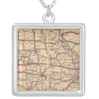 Missouri 11 silver plated necklace