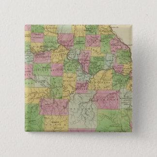 Missouri 12 15 cm square badge