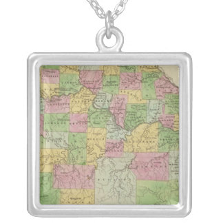 Missouri 12 silver plated necklace