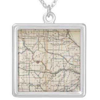 Missouri 2 silver plated necklace