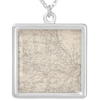 Missouri 3 silver plated necklace