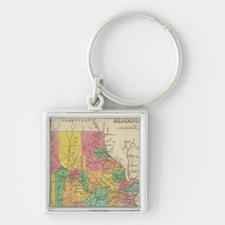 Missouri 5 key ring