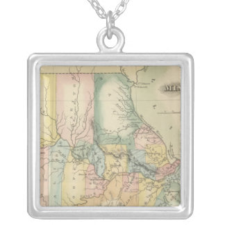 Missouri 5 silver plated necklace