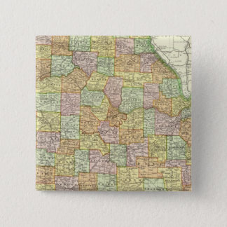 Missouri 6 15 cm square badge