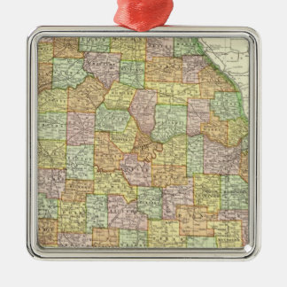 Missouri 6 christmas ornament