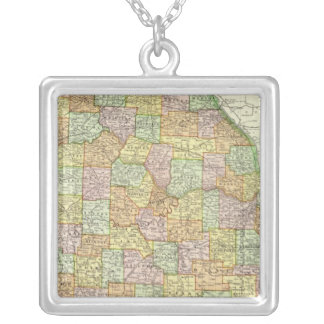 Missouri 6 silver plated necklace
