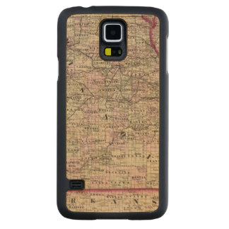 Missouri 7 carved maple galaxy s5 case