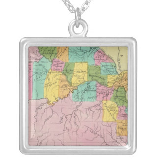 Missouri 7 silver plated necklace