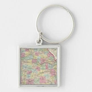 Missouri 8 key ring