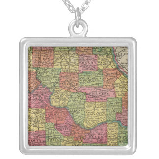Missouri 8 silver plated necklace