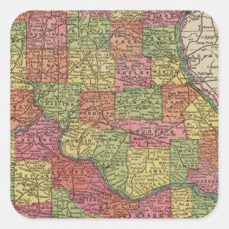 Missouri 8 square sticker