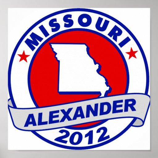 Missouri Alexander Poster