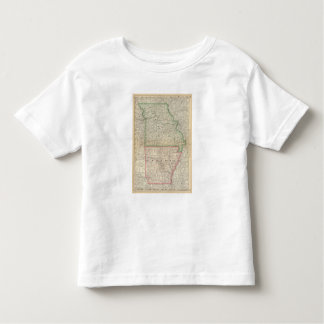 Missouri and Arkansas Toddler T-Shirt