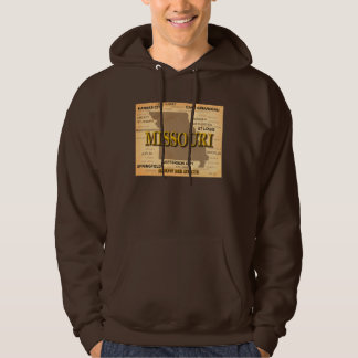 Missouri Antique Map Hoodie