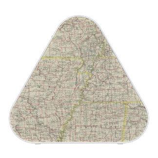 Missouri, Arkansas, Kentucky, Tennessee