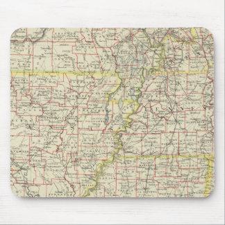 Missouri, Arkansas, Kentucky, Tennessee Mouse Pad