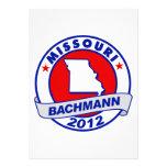 Missouri Bachmann Personalized Announcement