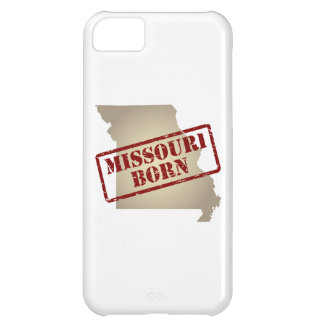 Missouri Born - Stamp on Map Case For iPhone 5C