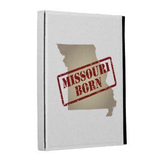 Missouri Born - Stamp on Map iPad Case