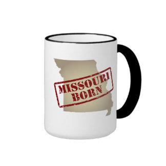 Missouri Born - Stamp on Map Mug