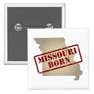 Missouri Born - Stamp on Map Pin