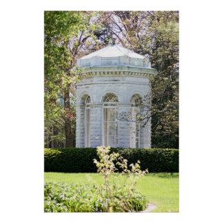 Missouri Botanical Gardens Gazebo Poster