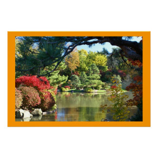 Missouri Botanical Japenese Garden Poster