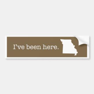 Missouri Bumper Sticker
