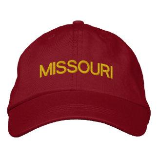 Missouri Cap Embroidered Hat