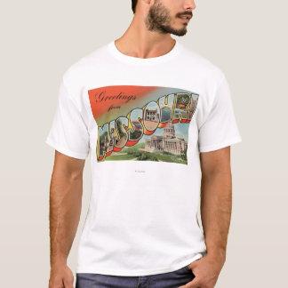 Missouri (Capital Building) - Large Letter T-Shirt