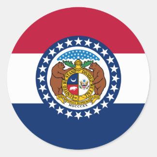 Missouri Classic Round Sticker