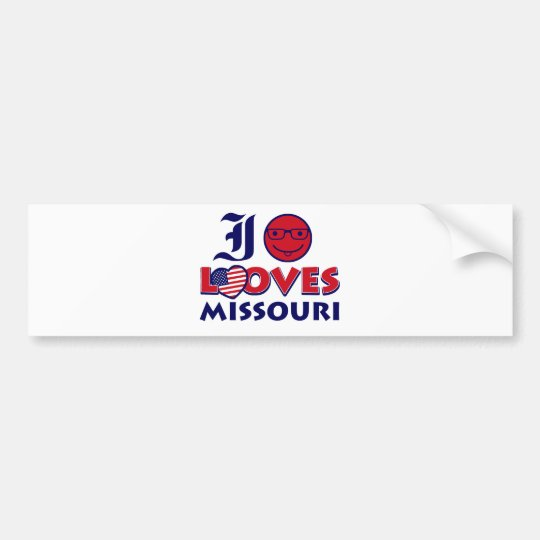 Missouri Designs Bumper Sticker