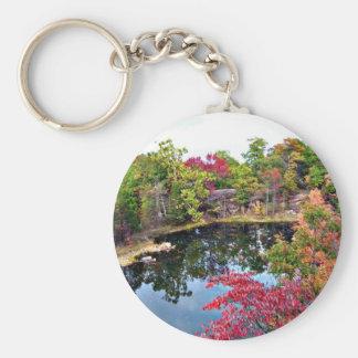 Missouri Fall Photograph Key Ring