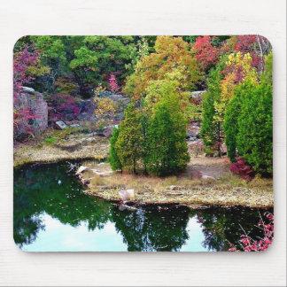 Missouri Fall Trees Photograph Mouse Pad