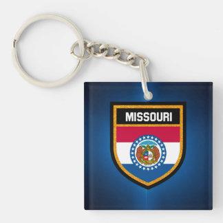 Missouri Flag Key Ring