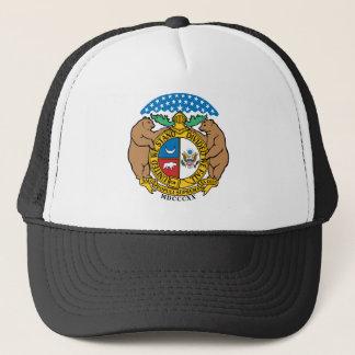 Missouri Flag Theme 00 Trucker Hat
