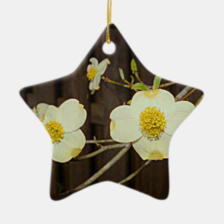 Missouri Flowering Dogwood Tree Christmas Ornament