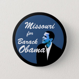 Missouri for Barack Obama 6 Cm Round Badge